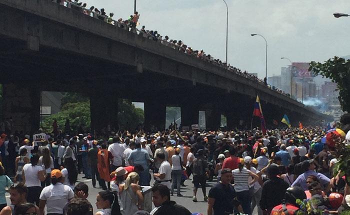 Iglesia católica condenó represión desmedida en manifestaciones