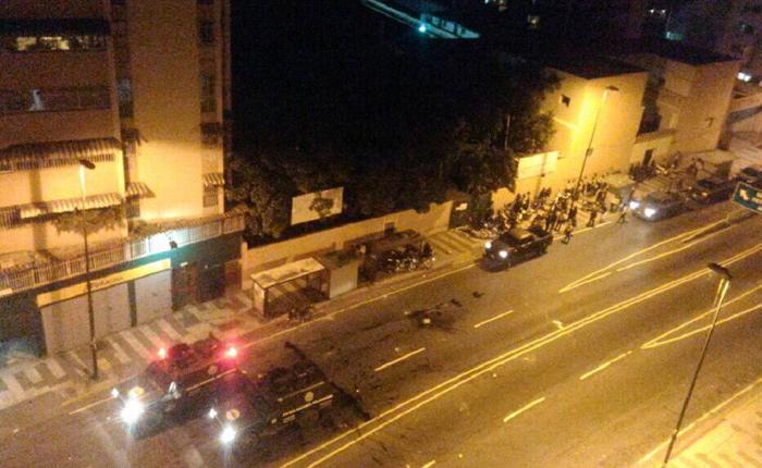 CICPC destrozó casas de los vecinos de El Guarataro que protestaron contra Maduro