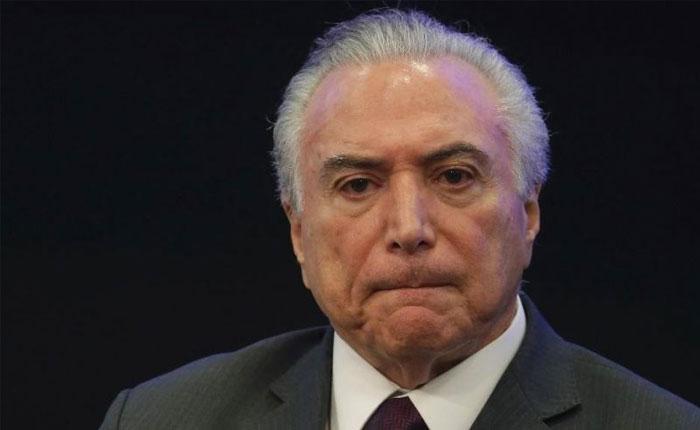 Presidente de Brasil también será investigado por caso Odebrecht