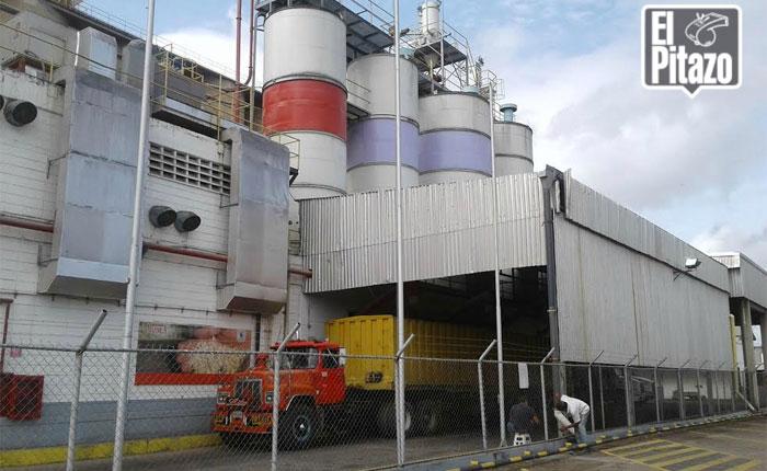 Alimentos Polar paralizó temporalmente producción de harina en Cumaná
