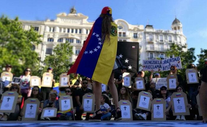 Venezuela superó a Siria en peticiones de asilo en España el año pasado