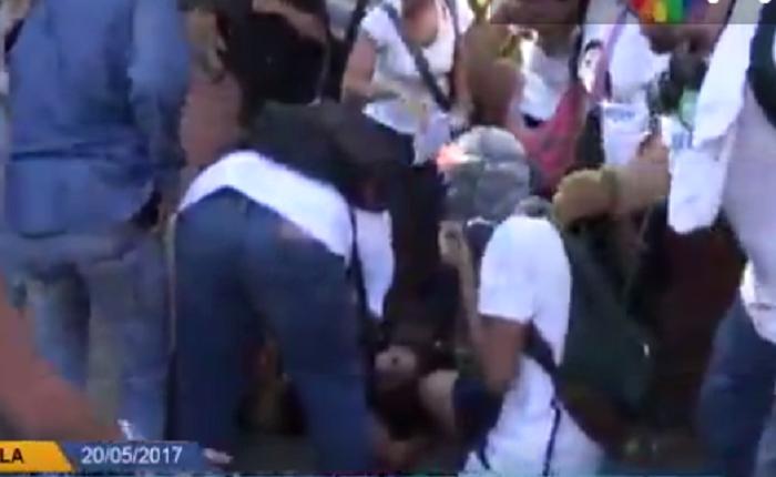 MP inicia averiguaciones por joven arrollada durante protesta en Caracas