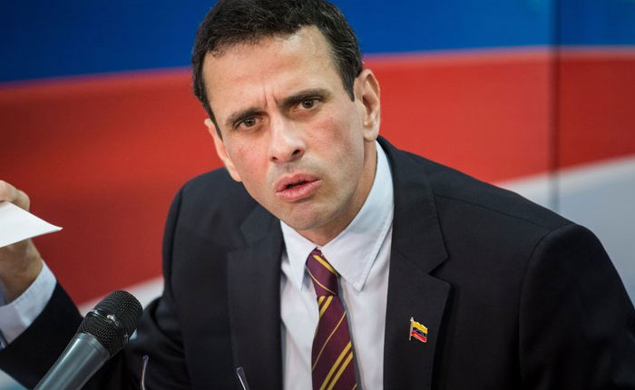 Capriles pide a países de América Latina no solicitar visa a los venezolanos