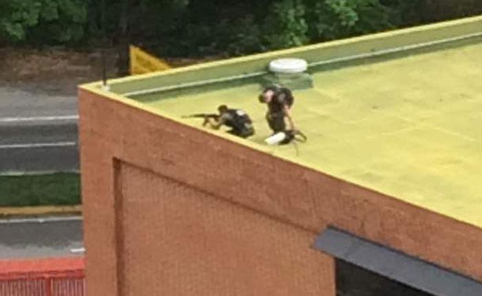 Vecinos de La Tahona reportan francotiradores sobre techo de CIED-PDVSA