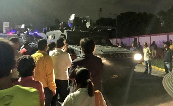 Cuarenta personas ya han sido presentadas ante tribunales militares en Carabobo