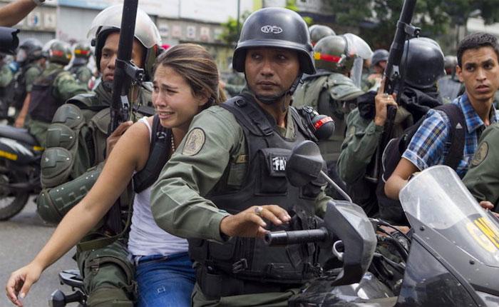 Más de 1.300 manifestantes presos en condiciones infrahumanas de reclusión
