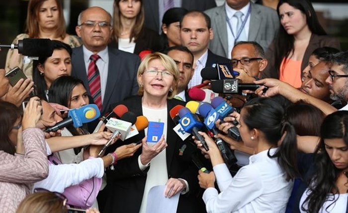 Ortega Díaz denunciará al presidente Nicolás Maduro ante la CPI