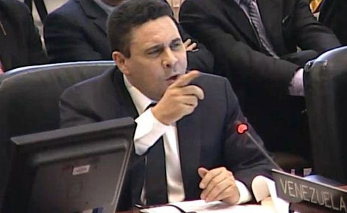 Samuel Moncada acusa a EEUU de fomentar una implosión social en Venezuela