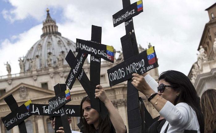 Obispos venezolanos al Papa: Deje de ser blando con nuestro déspota