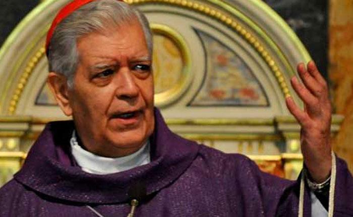 Cardenal Urosa pide ayuda y solidaridad por la crisis en Venezuela