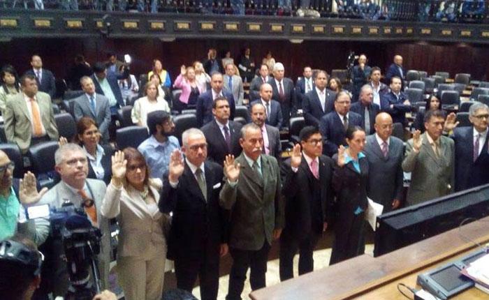 AN presenta listado de preseleccionados a Magistrados del TSJ