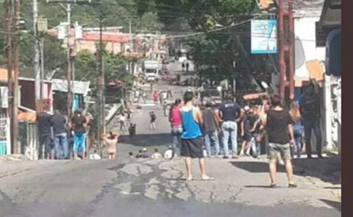 Murió joven durante trancazo en Táchira