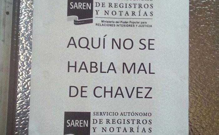Para el TSJ, hablar mal de Chávez es motivo de despido