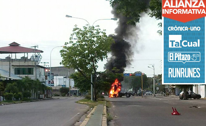 Murió adolescente atropellado en protesta estudiantil de Ciudad Bolívar