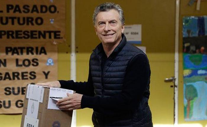 Argentina refrenda la gestión de Macri con rotundo apoyo en las legislativas