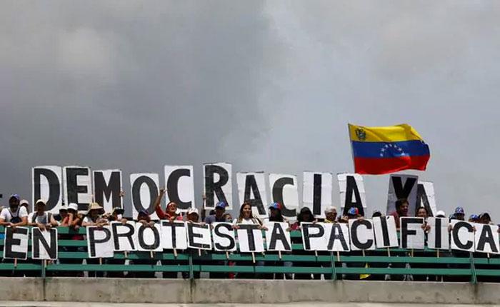 OVCS registró 9.787 protestas en Venezuela durante 2017