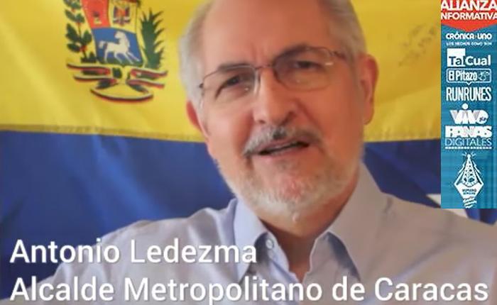 Las cinco claves del nuevo pronunciamiento de Antonio Ledezma