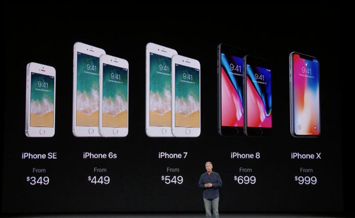 Apple sorprende con el iPhone X, y los nuevos iPhone 8 y iPhone 8 Plus