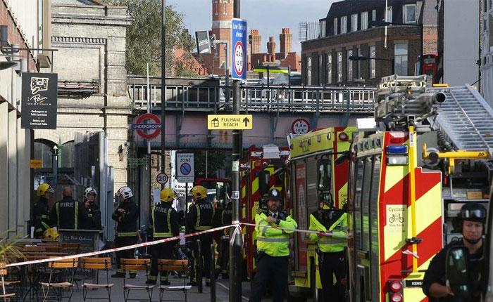 Estado Islámico asumió la autoría del atentado en el metro de Londres