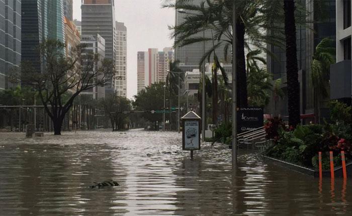 """""""Irma"""" se degrada a tormenta tropical"""