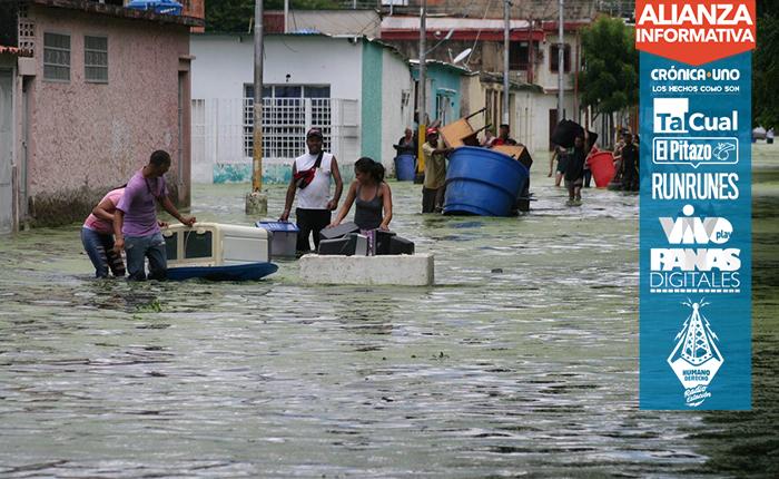 Ni viviendas ni refugios para los afectados por la crecida del Lago de Valencia