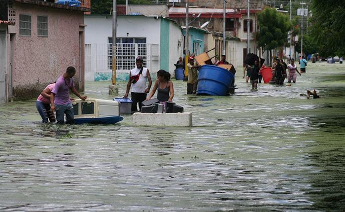 Parapal inundación Aragua