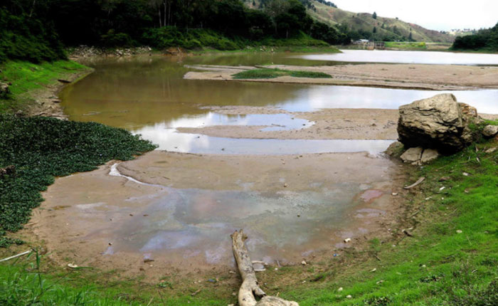 Crisis del agua se agudiza: Embalse La Mariposa está inoperativo