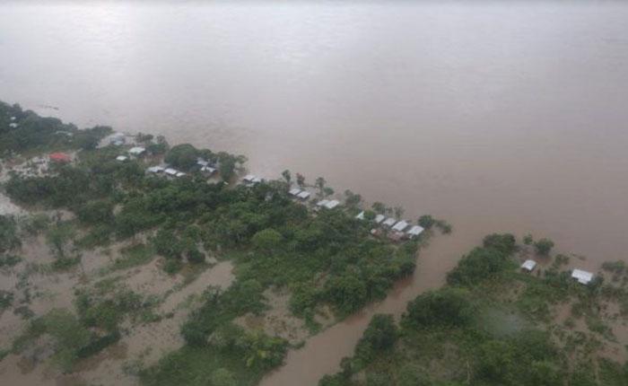 50 familias quedaron sin casas en Araguaimujo