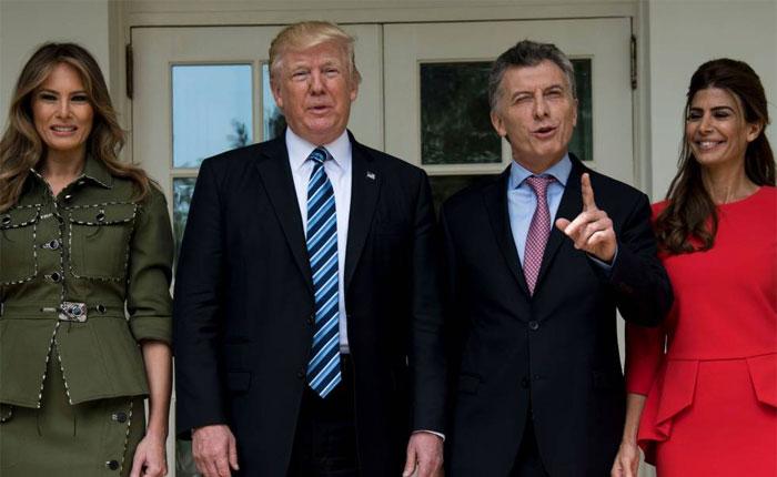 Trump y Macri acuerdan cooperar para restaurar la democracia en Venezuela