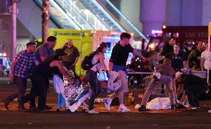 Trump y demás líderes expresaron sus condolencias a víctimas del tiroteo en Las Vegas