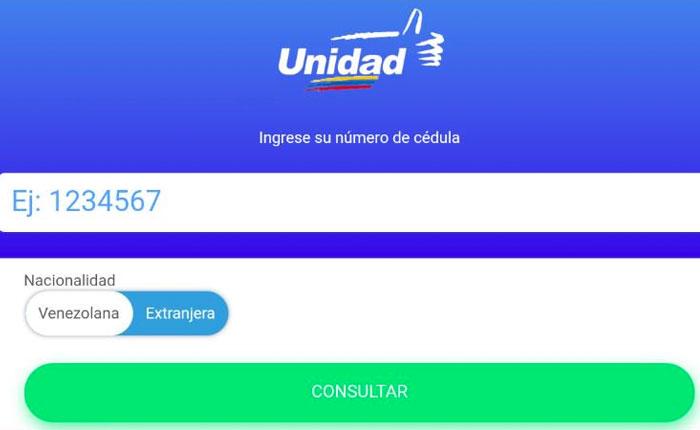 MUD lanza app para que electores conozcan donde votar en regionales el #15Oct
