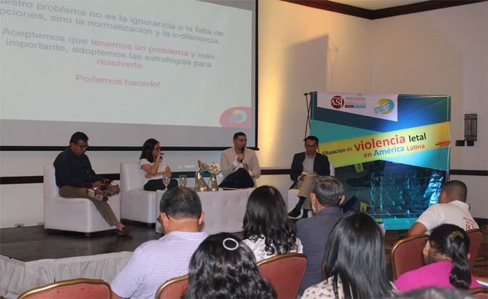 Realizan foro en Honduras para tratar situación de violencia letal en América Latina