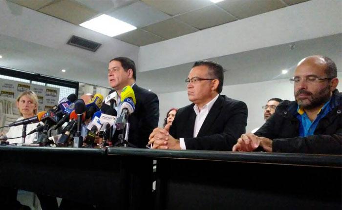 MUD espera por el Gobierno para iniciar negociaciones en República Dominicana