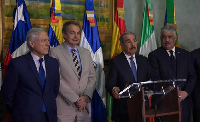 Representantes internacionales se incorporaron a diálogo en Dominicana