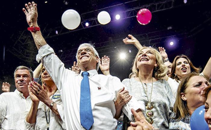 Sebastián Piñera gana presidencia de Chile con amplio margen