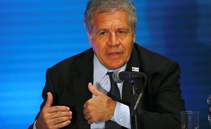 Almagro pide sanciones más duras contra Maduro para forzar negociación