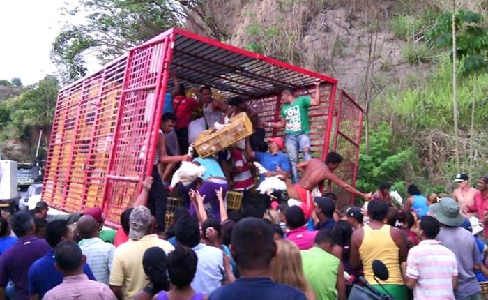 Saqueos muestran cara más grotesca de crisis venezolana
