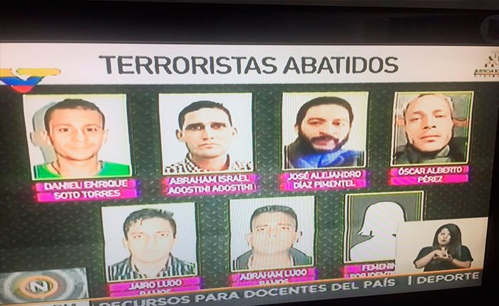Reverol dijo que entrevista a CNN e informaciones provenientes de mesa de diálogo permitieron ubicar a Óscar Pérez