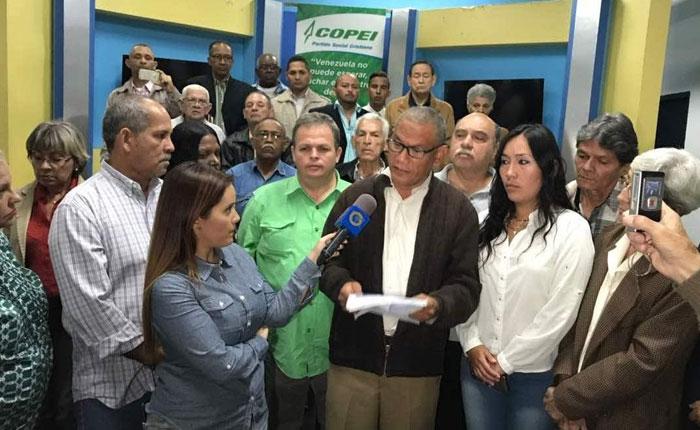 COPEI asegura que ninguna de sus instancias autorizó postulación de Henri Falcón