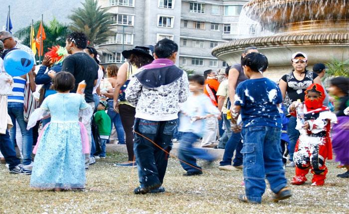 Municipio Chacao celebra el Carnaval con actividades familiares en la Plaza Altamira