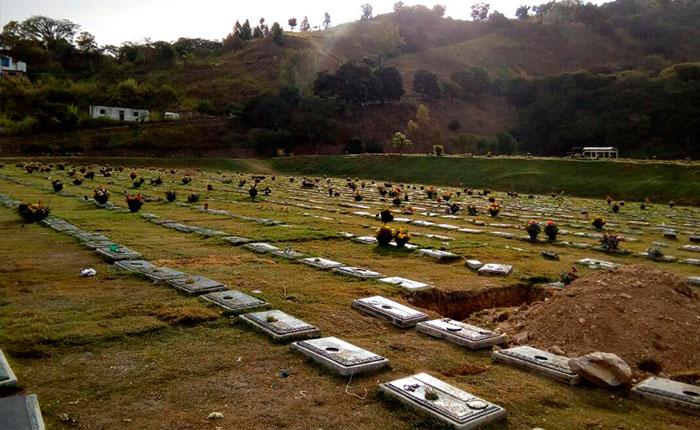 Cementerio del Este: la vecindad de Arturo Uslar Pietri y Heyker Vásquez