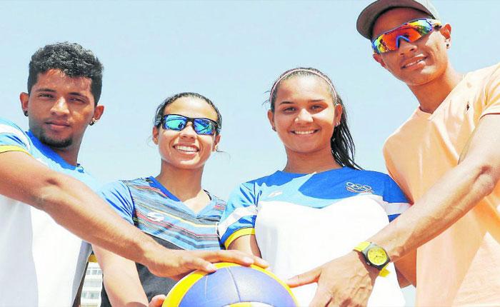 Voleibolistas venezolanos se quedan en Chile luego de competencia