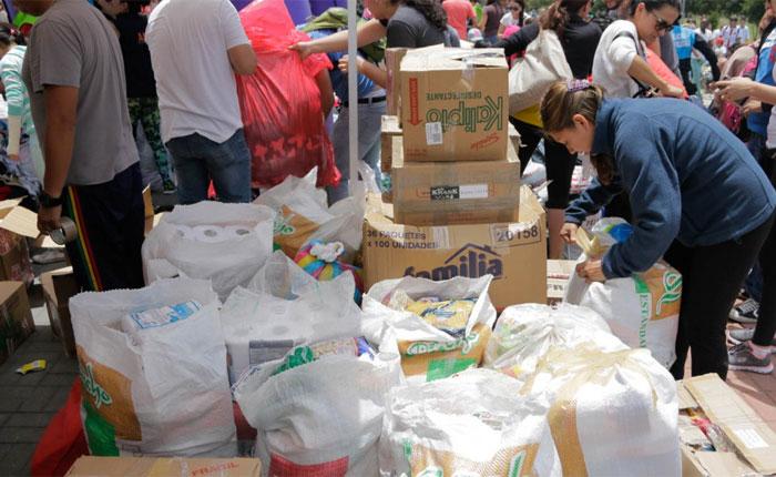 #Hambrómetro | Ciudadanos denunciaron que en Acarigua venden pasta de la ayuda humanitaria en caja Clap