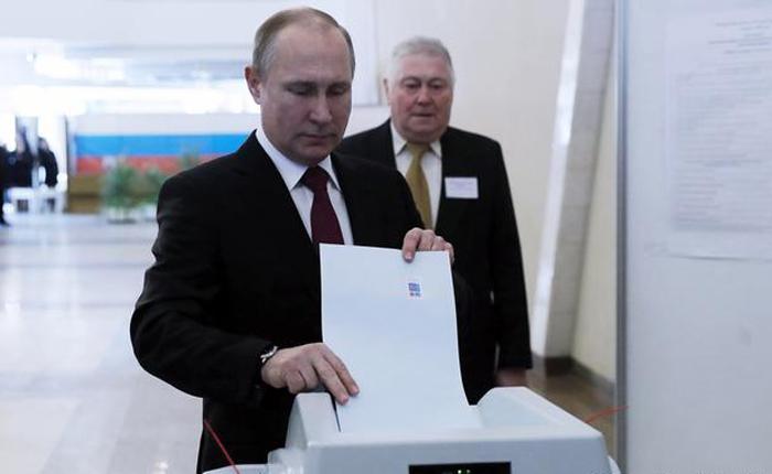 Putin confiado en triunfo en presidenciales rusas