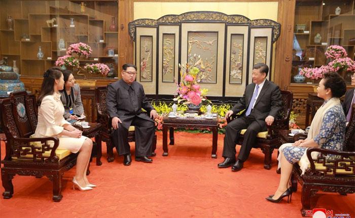 Kim Jong-un proclamó en China su compromiso con la desnuclearización de Corea