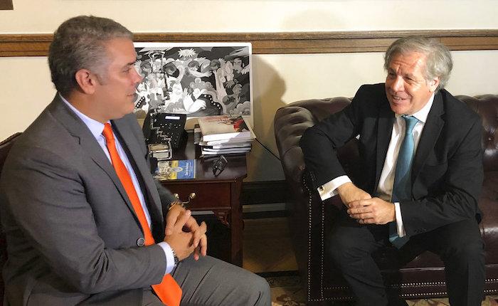 Duque propone a países de la OEA abandonar Unasur