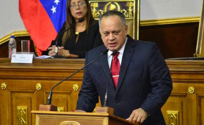 """Cabello arremete contra presidentes de Chile y Colombia y los tilda de """"arrastrados"""""""