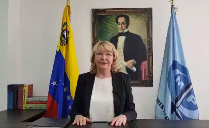 """Luisa Ortega Díaz denuncia a Maduro por corrupción ante Supremo """"en el exilio"""""""