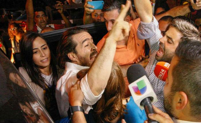 """Daniel Ceballos tras ser liberado: """"Venezuela, la libertad llega"""""""