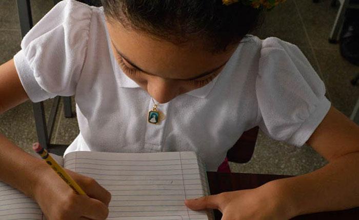 Fe y Alegría recauda fondos para comprar cuadernos y lápices de cara al nuevo año escolar